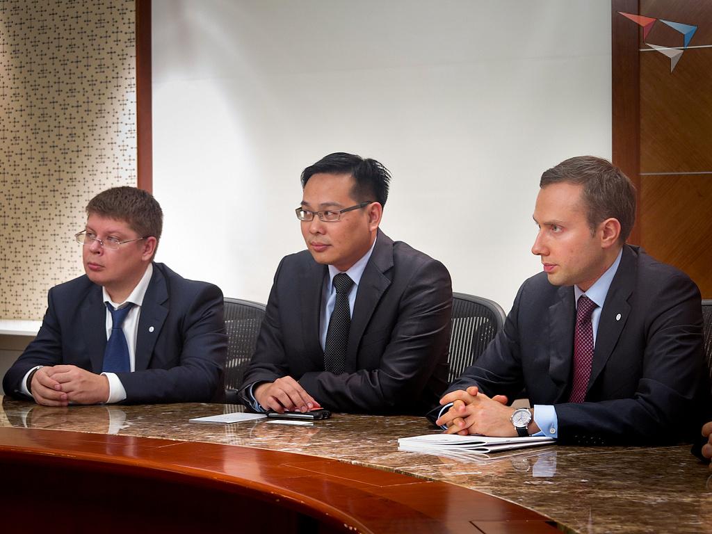 Визит делегации Клуба лидеров в Сингапур
